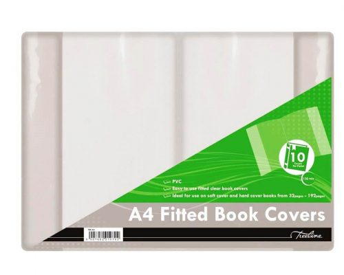 A4 Ployprop 120 Mic Ajustable Book Cover (10's)