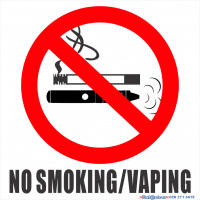 No Smoking-Vaping