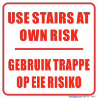 Own Risk Stairs
