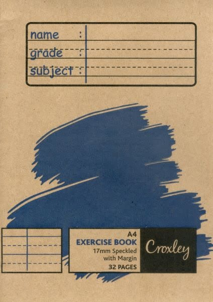 Croxley Exercise Book A4 32pg 17mm Speckled with Margin (JD26717SPEC)