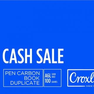 Croxley Cash Sale Carbon Book A6 DUP (JD16CS)