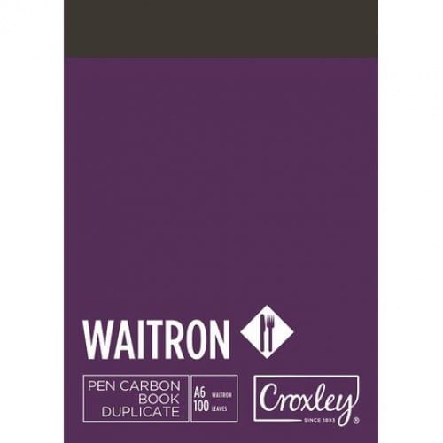 Croxley Waitron Carbon Book A6 DUP (JD16W)
