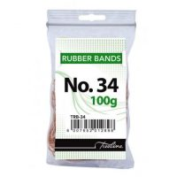 Treeline No 34 Rubber Bands 100g