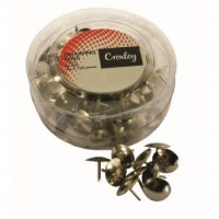 Croxley Drawing Pins 11mm Silver